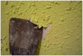 Sacar estucado paredes materiales de construcci n para la reparaci n - Como alisar paredes ...