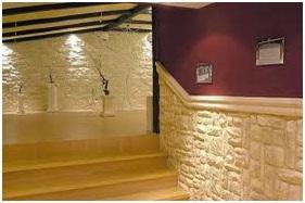 Hay algo que imite a la piedra es f cil de poner foro pintura casa for Pierre murale interieure