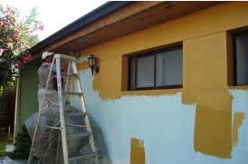 ¿Qué debo hacer para pintar una fachada?